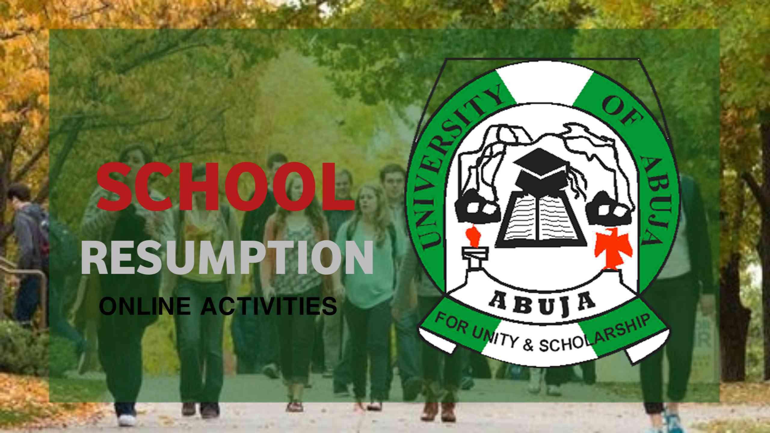 Uoa: Resumption Of School Activities Online