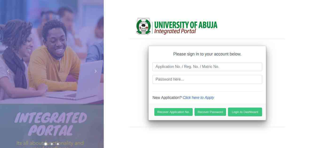 Post UTME update for University of Abuja