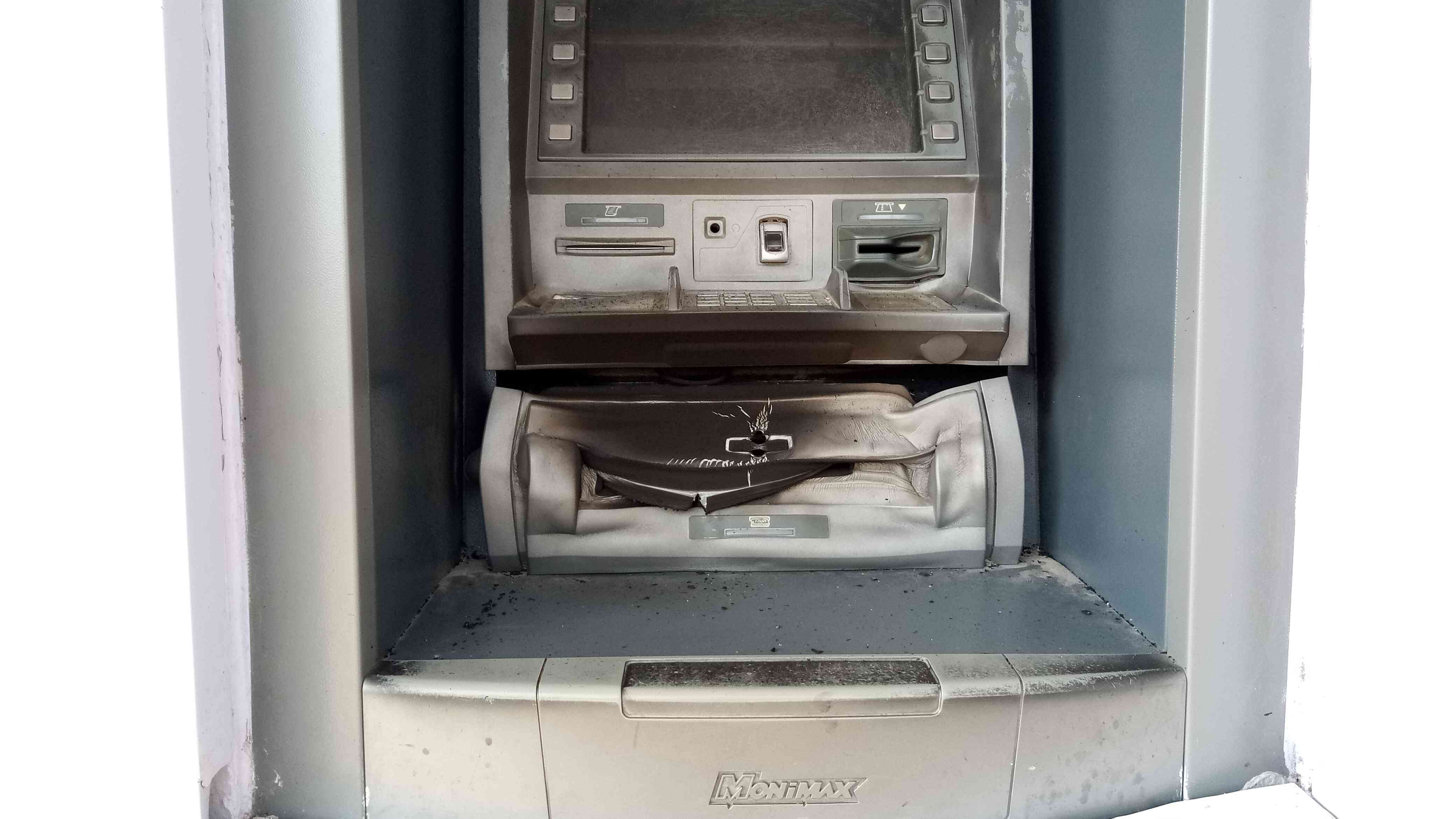UofA: Mini Campus Access bank ATM stand Burgled