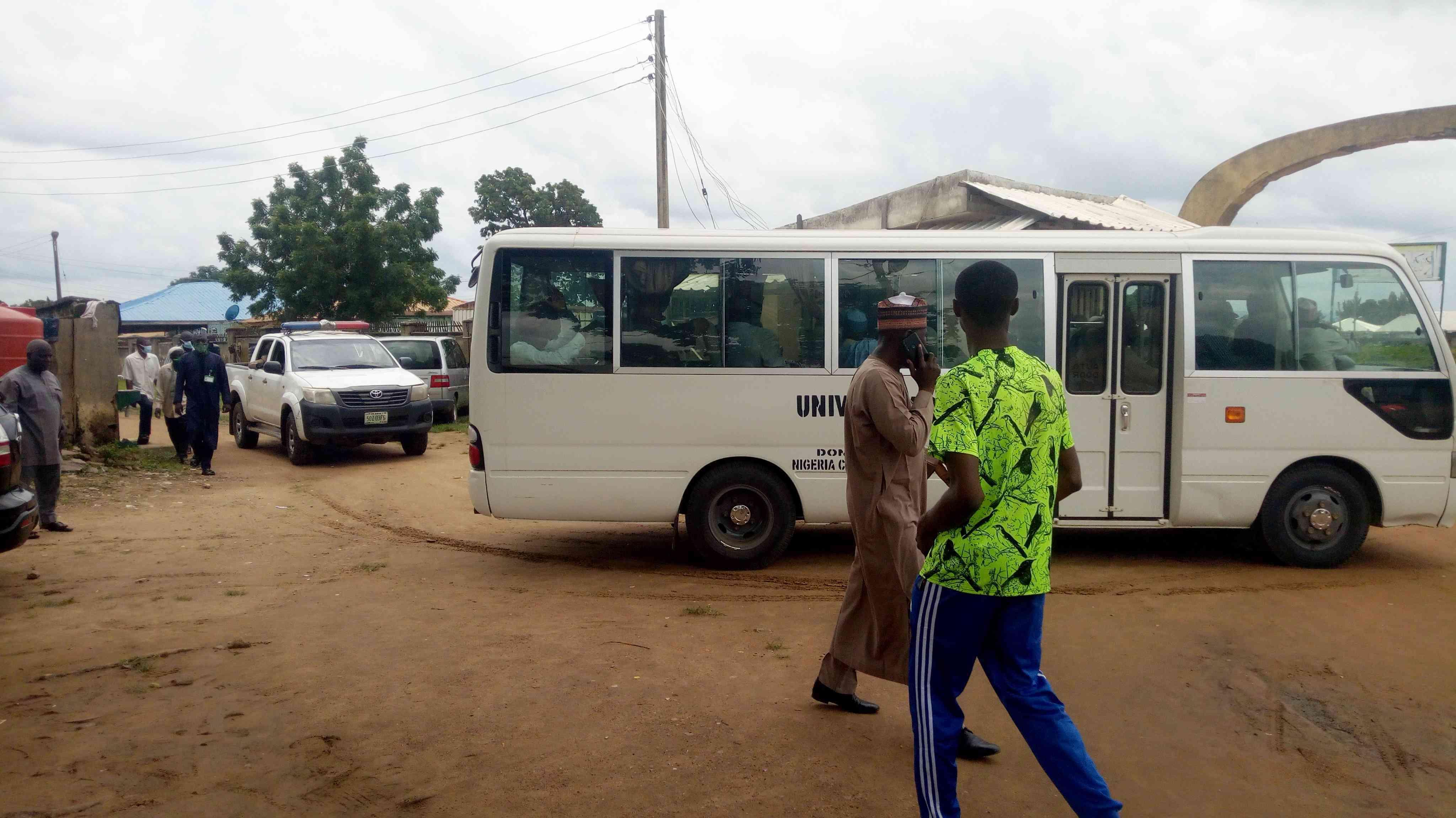 UofA: Vice Chancellor, in Mini Campus boys hostel