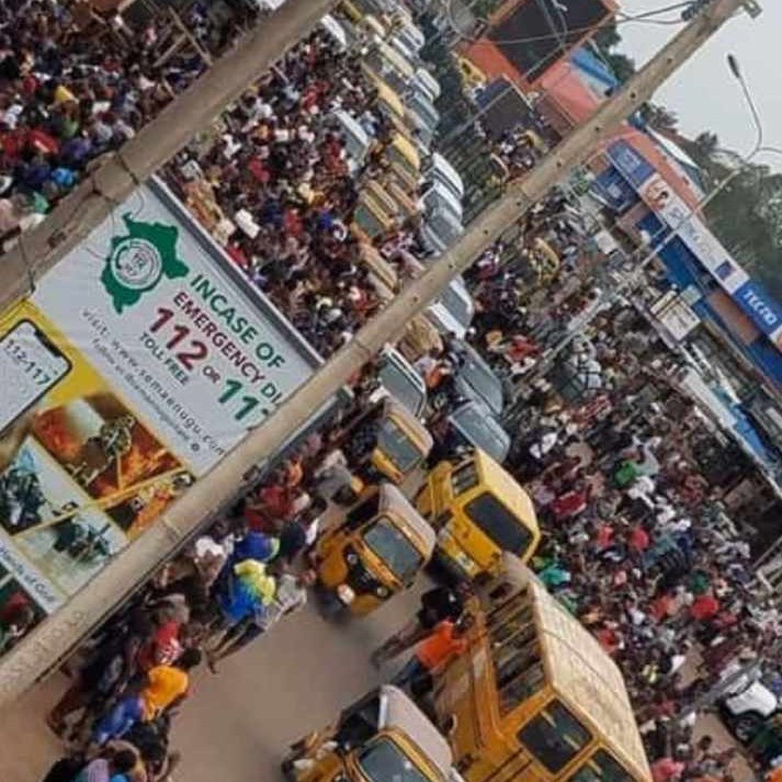 Lagos after relaxation of lock down