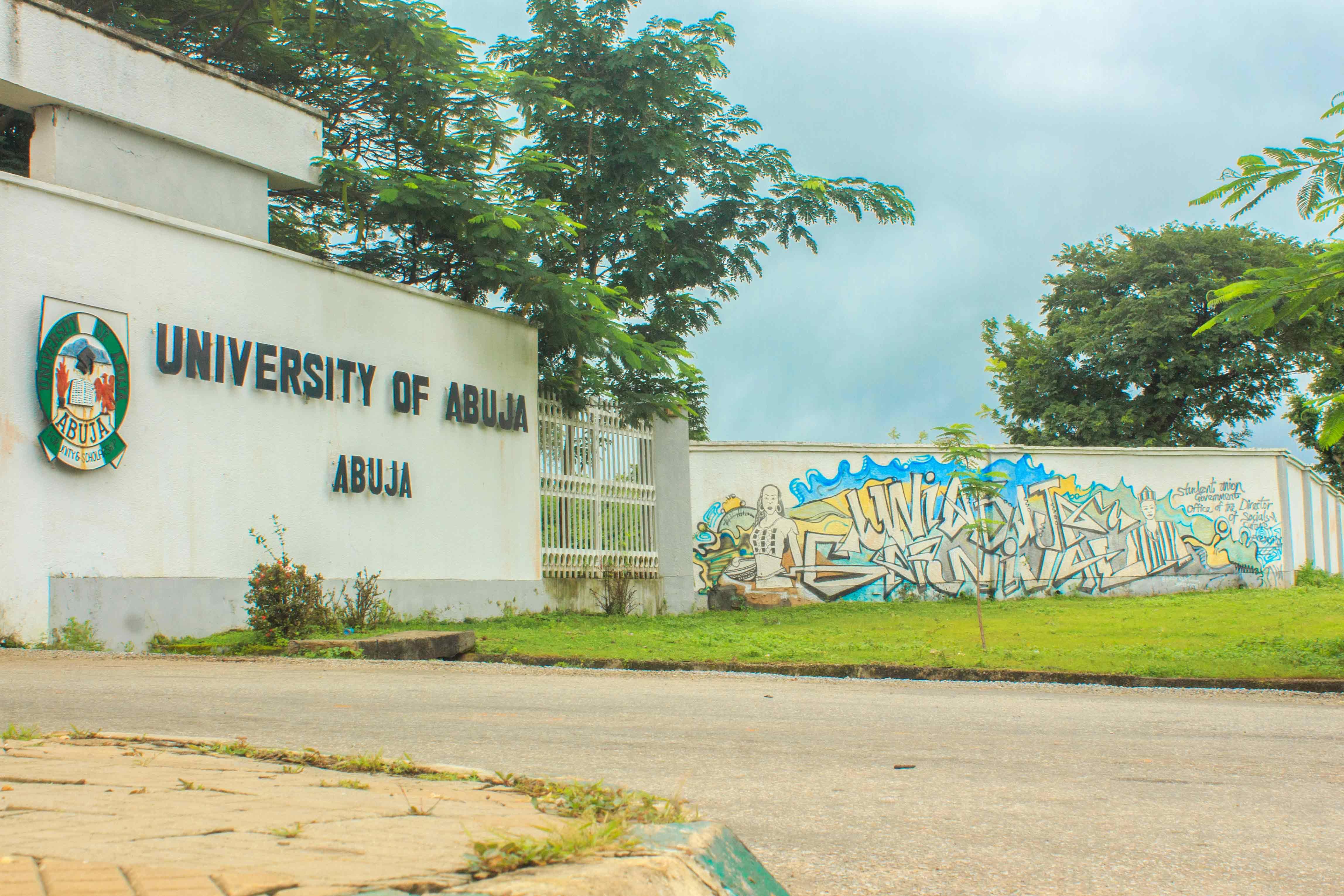 University of Abuja main gate